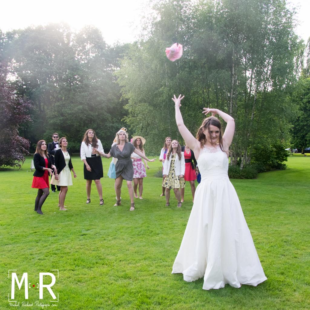Mariage-lancer du bouquet de la mariée-Cocktail-Michel-Richard