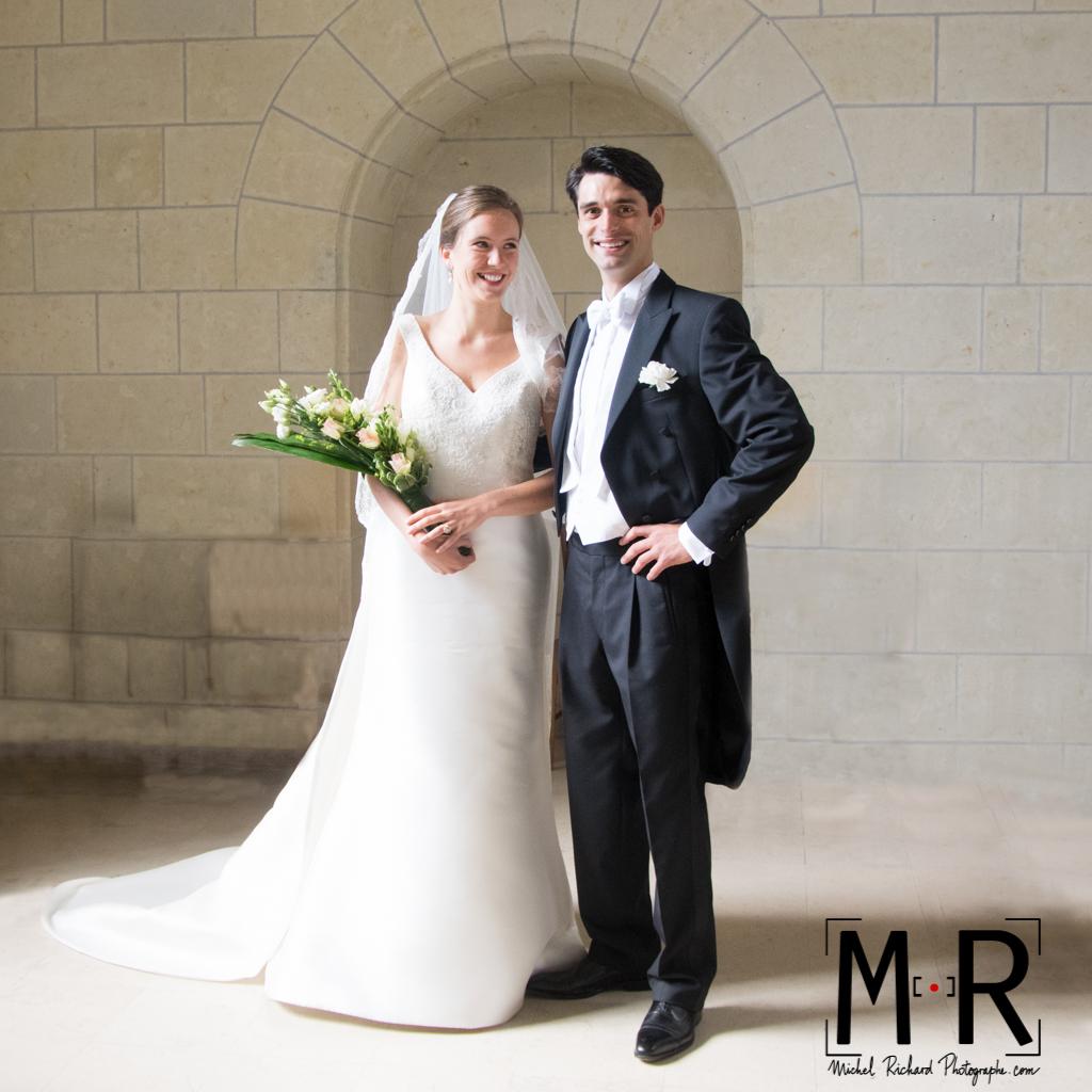 Mariage-Mariés classique-couple-Michel-Richard