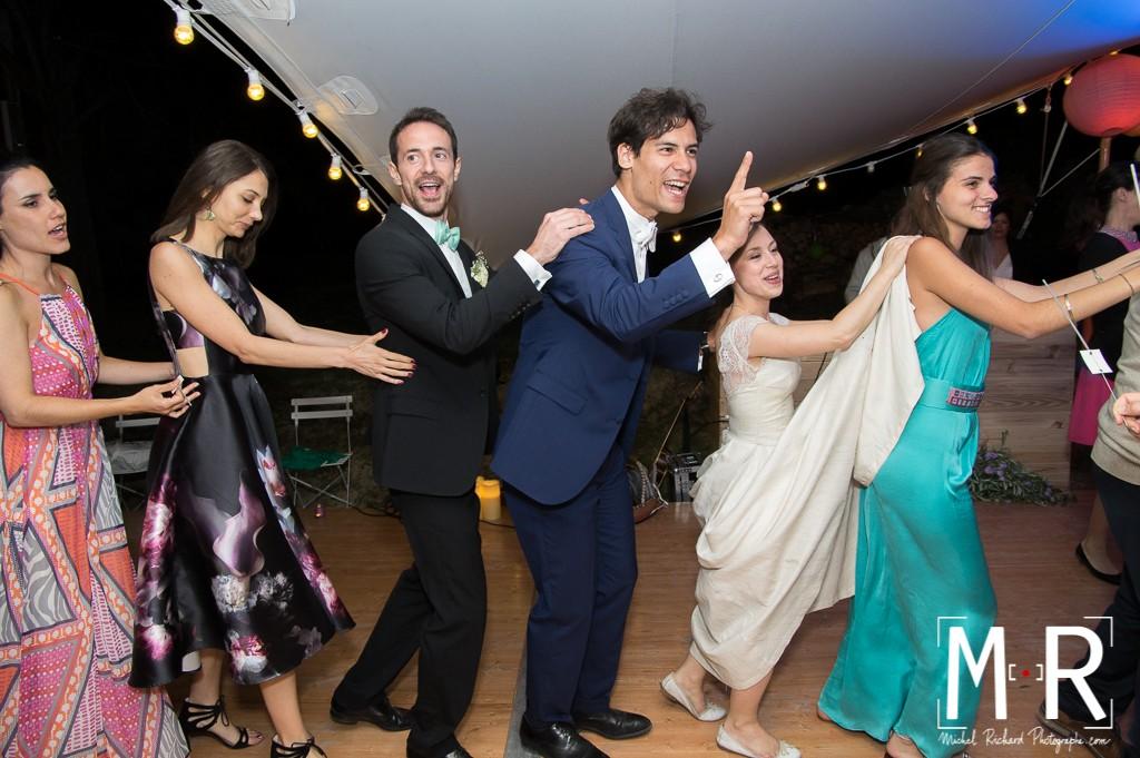 soirée danse des mariés